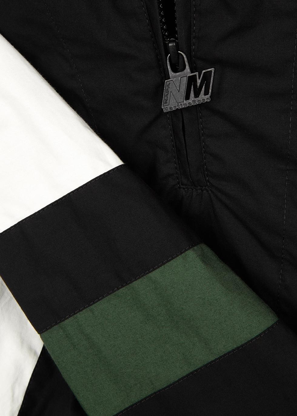 Huez panelled cotton jacket - Napa by Martine Rose