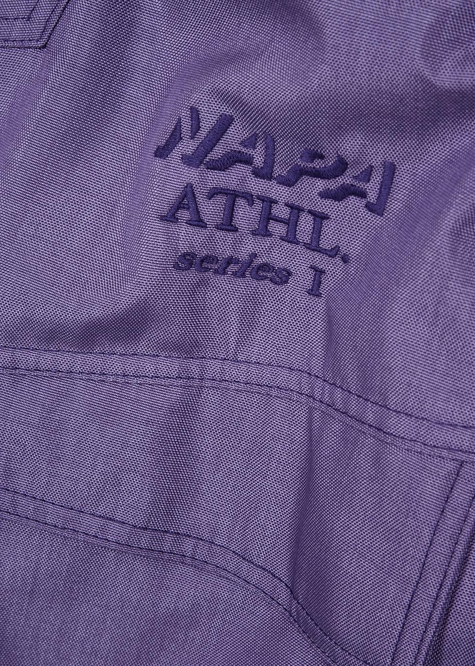 Allos purple canvas jacket - Napa by Martine Rose