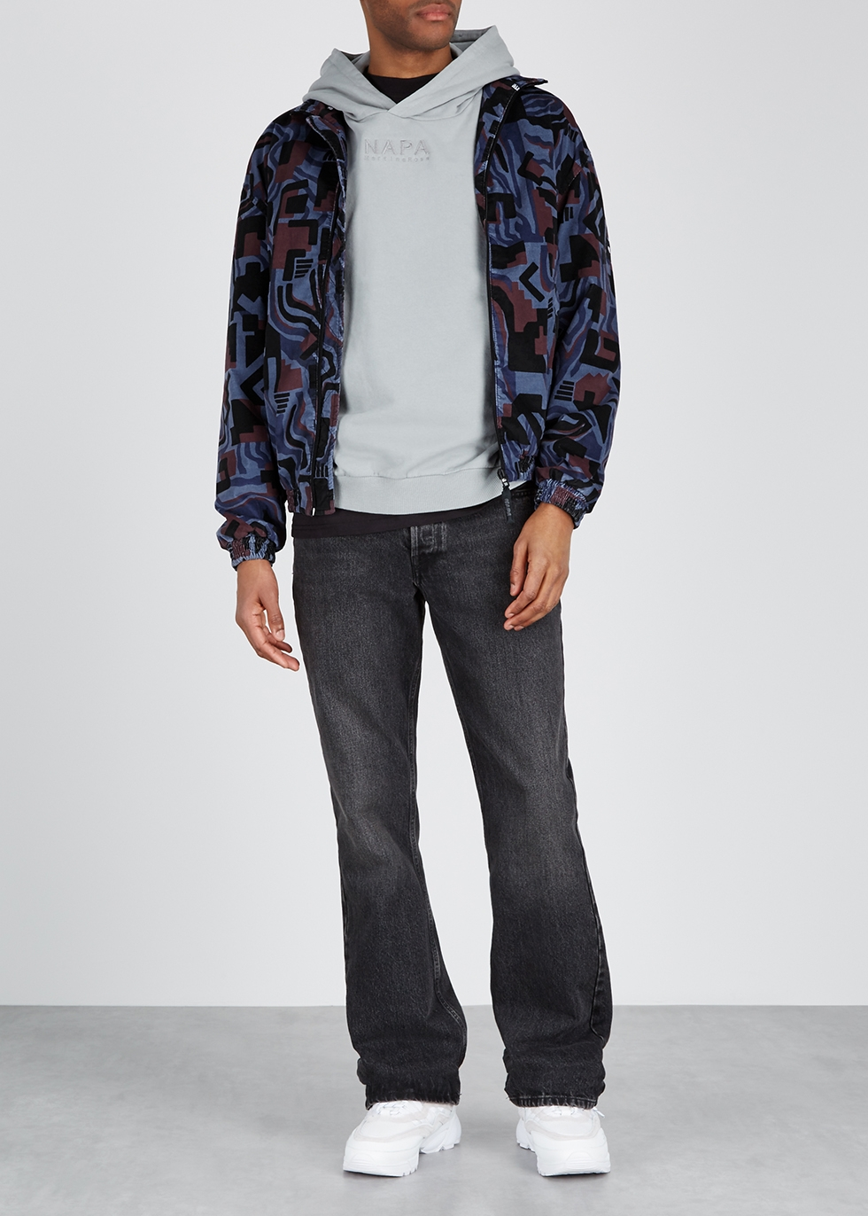Issarbe printed cotton jacket - Napa by Martine Rose