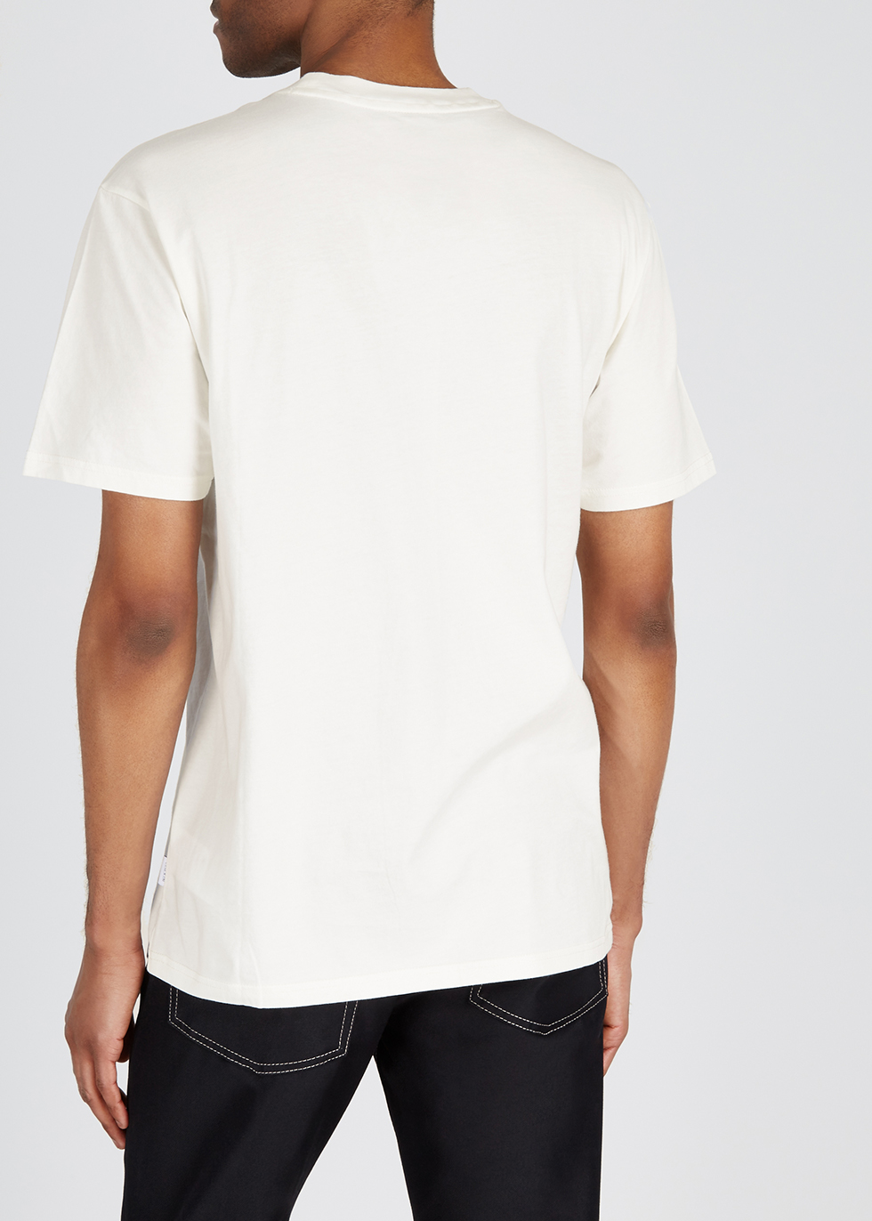 Scenis printed cotton T-shirt - Napa by Martine Rose