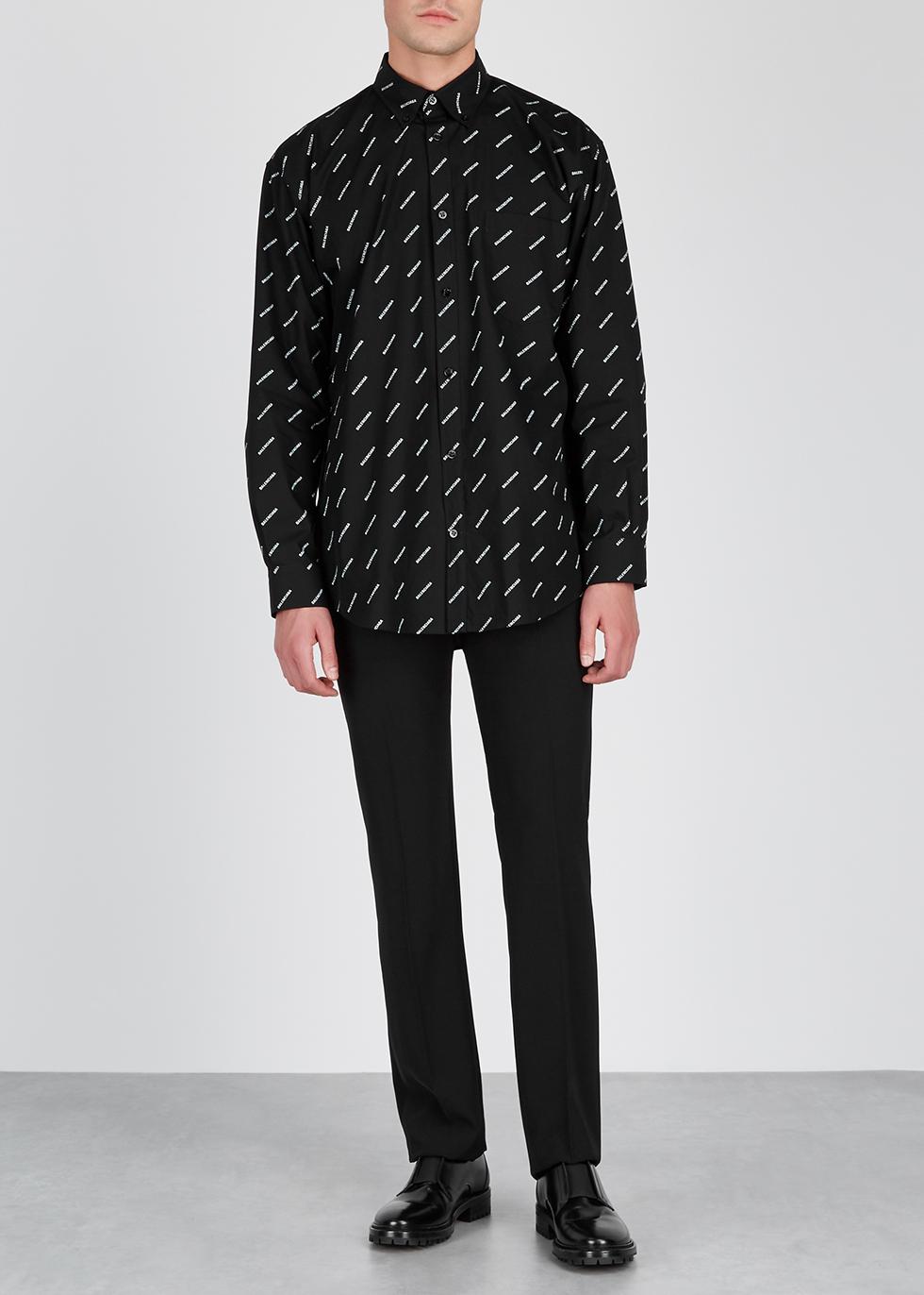 Black skinny twill trousers - Balenciaga