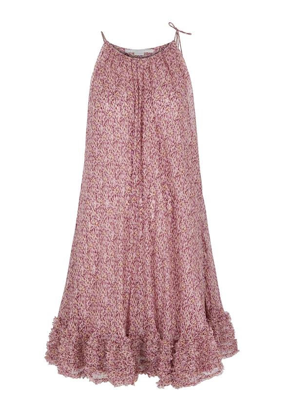 Floral-print silk chiffon dress ... 970e5a5027