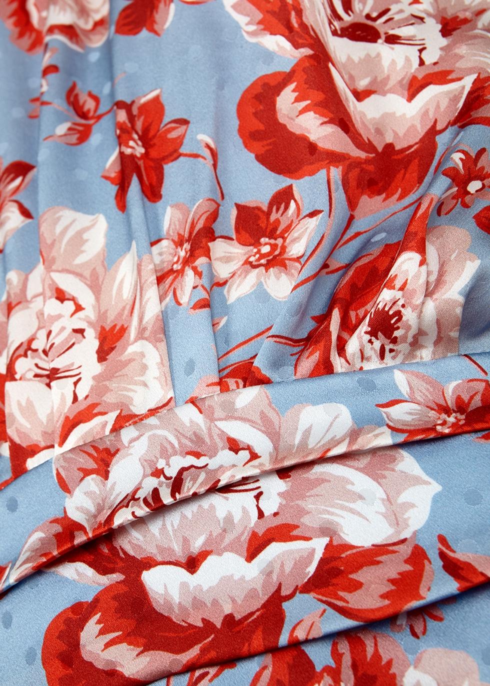 Setubal floral-print silk dress - Magda Butrym