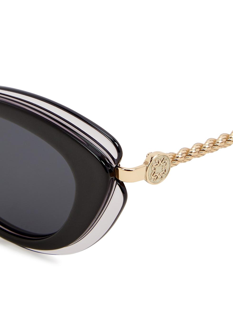 Grey cat-eye sunglasses - Elie Saab