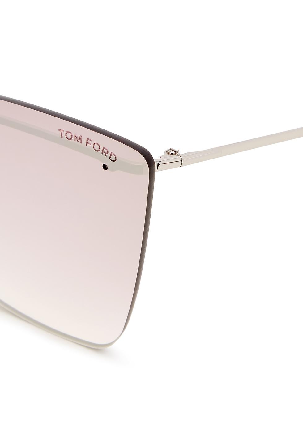 Camilla purple cat-eye sunglasses - Tom Ford Eyewear