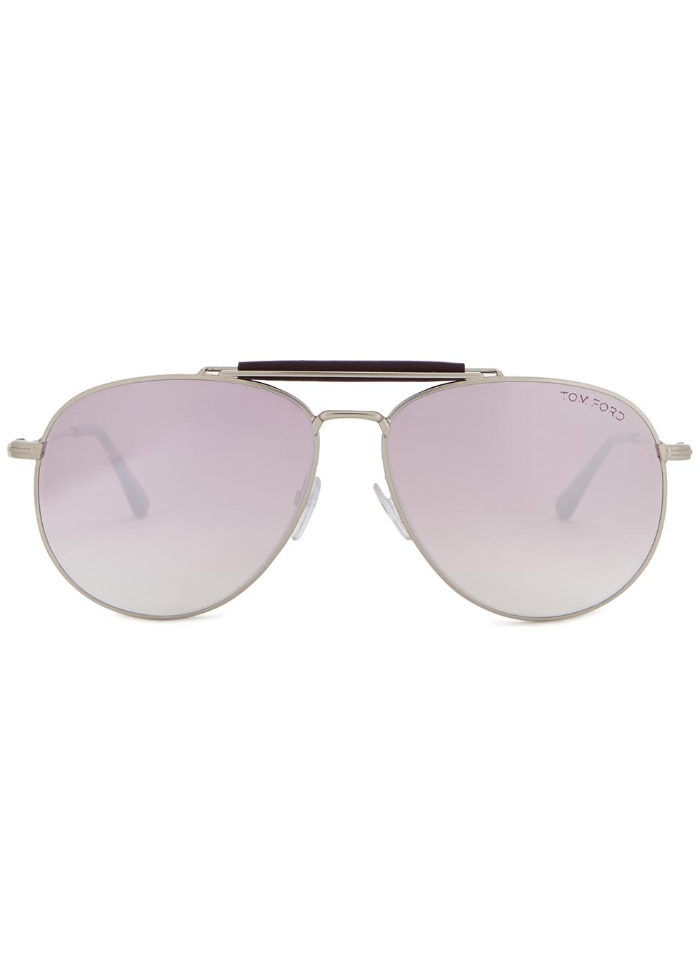 Sean aviator-style sunglasses - Tom Ford Eyewear