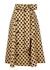 Diana polka-dot linen midi skirt - Lisa Marie Fernandez