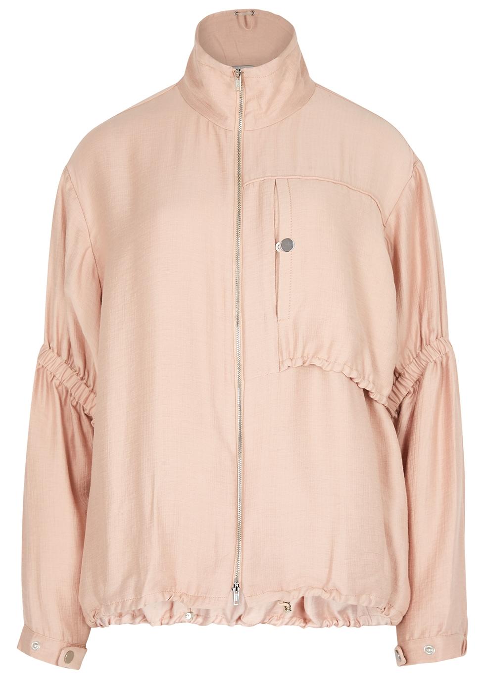 Blush ruched gauze jacket - 3.1 Phillip Lim