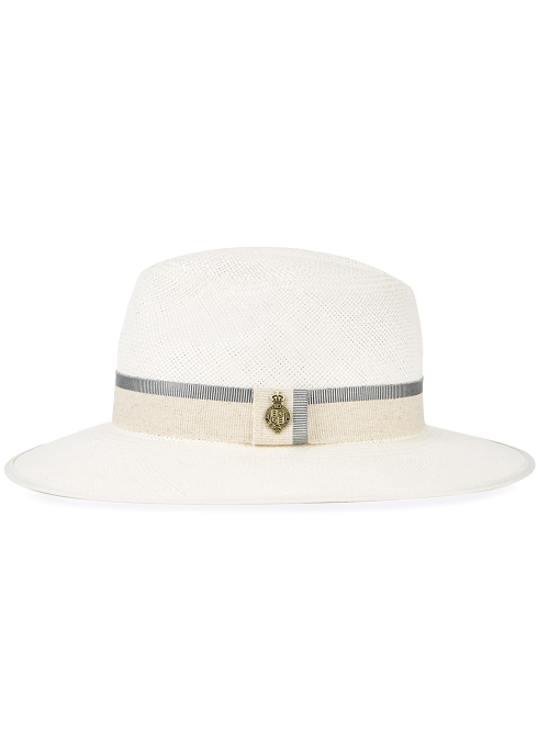 88e1de56574 Christys  London Classic Downbrim straw panama hat - Harvey Nichols