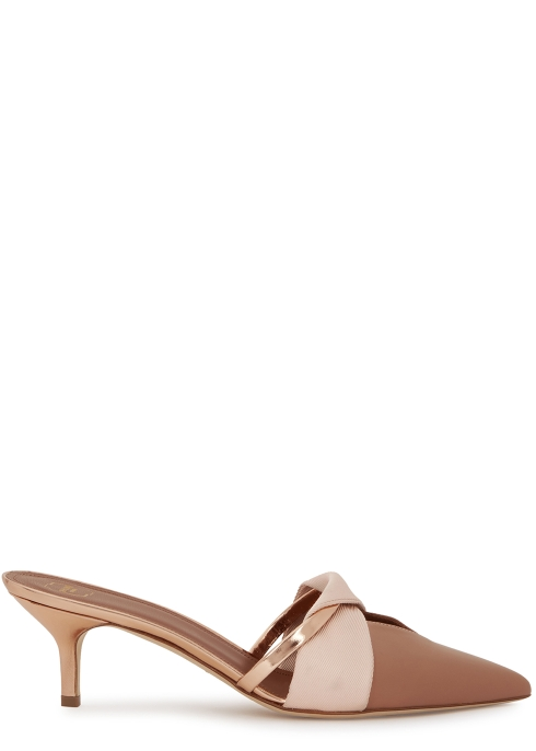 d0dfad027a89 Malone Souliers Virginia 45 leather mules - Harvey Nichols