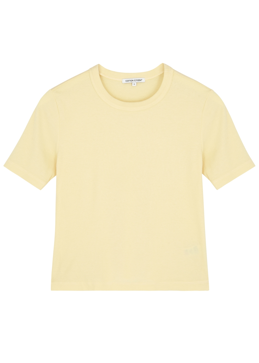 Verona yellow cotton-blend T-shirt - Cotton Citizen