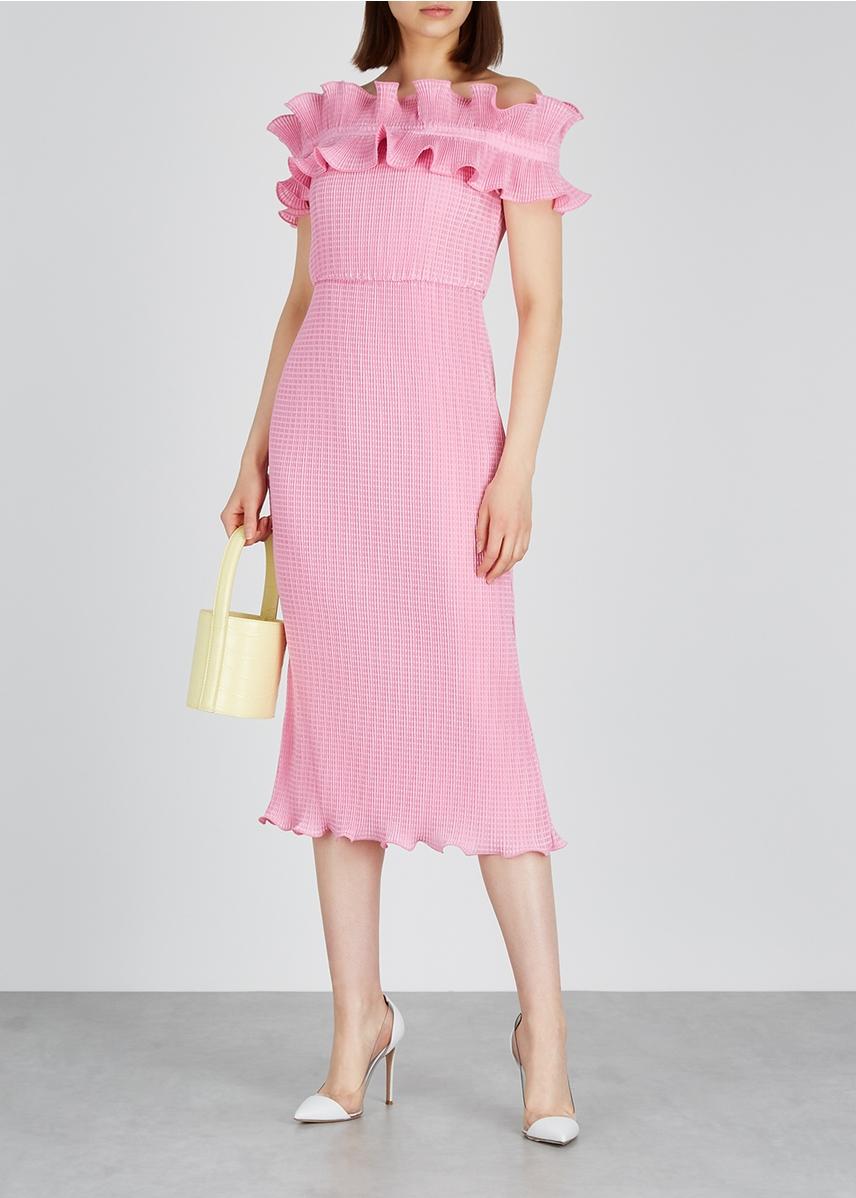 b08c1bbebb8f Designer Midi Dresses - Mid Length Dresses - Harvey Nichols