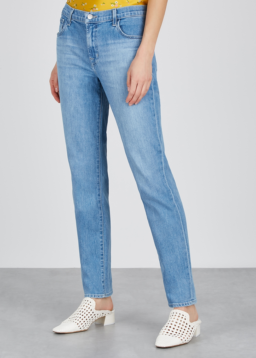 Johnny blue straight-leg jeans - J Brand