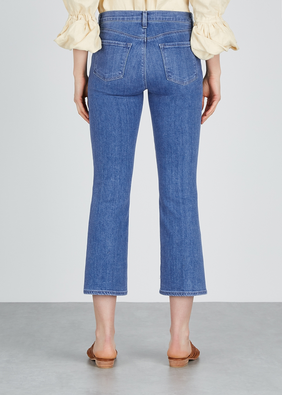 Selena blue bootcut jeans - J Brand