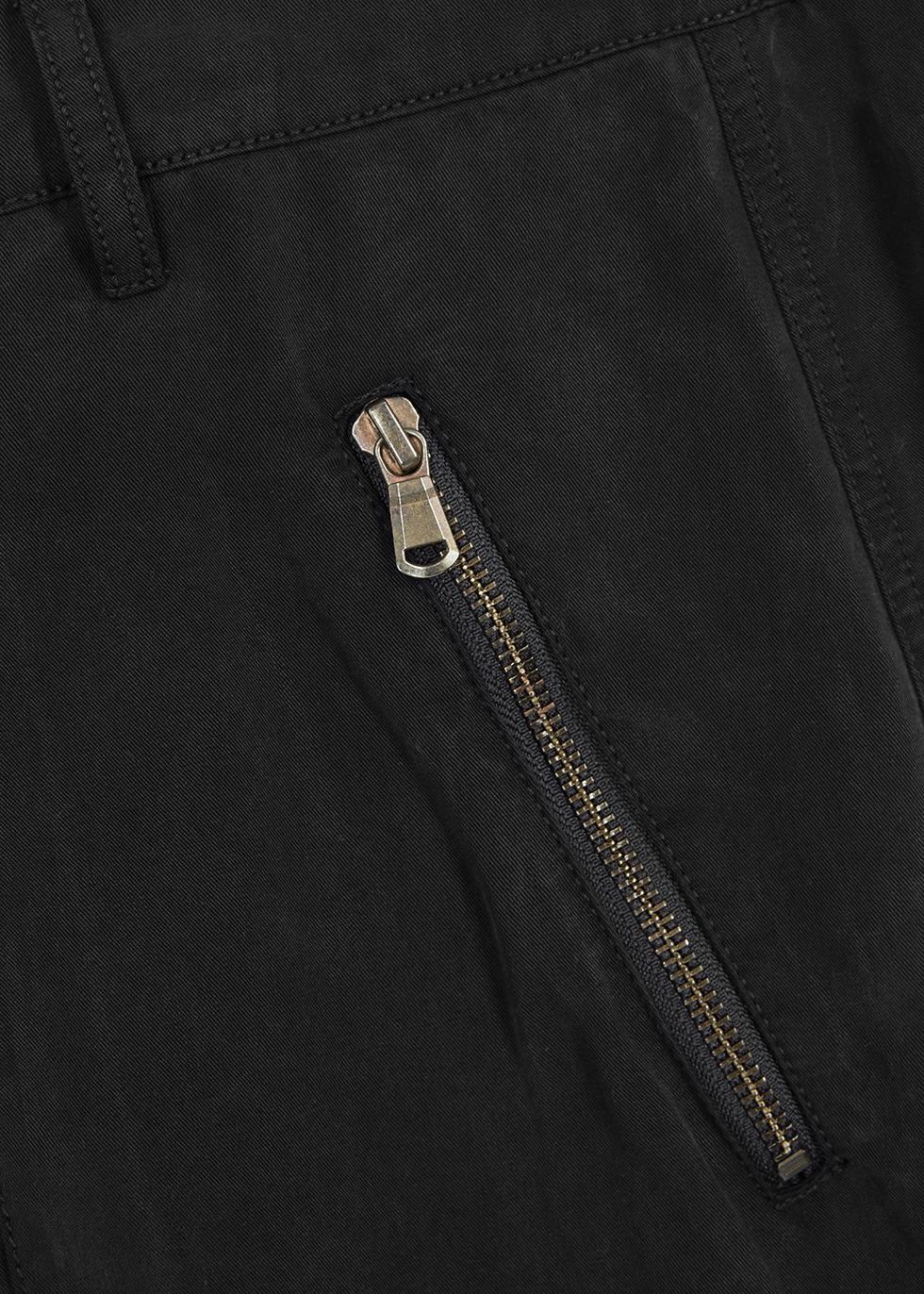 Noelle black wide-leg trousers - J Brand