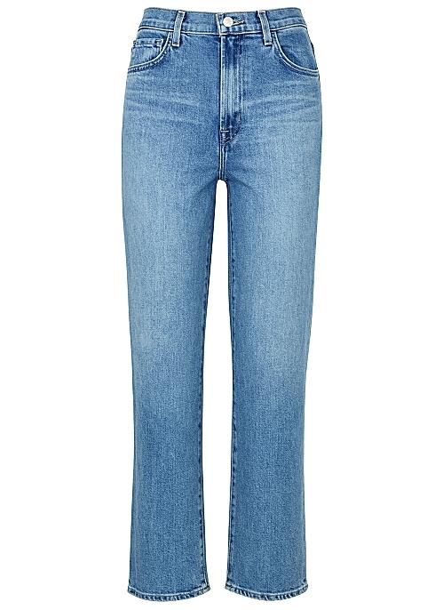 e1eb88854 J Brand Jules blue straight-leg jeans - Harvey Nichols