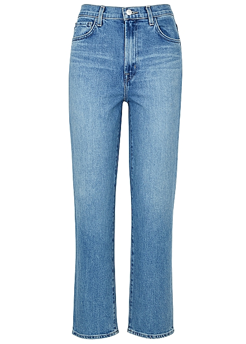 87be8bae26 J Brand Jules blue straight-leg jeans - Harvey Nichols