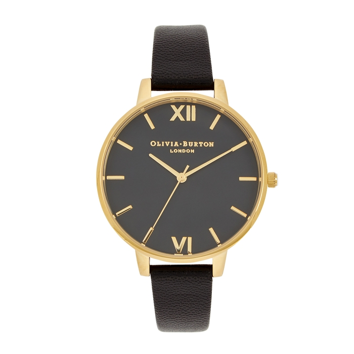 Olivia Burton Watches BIG DIAL GOLD-PLATED WATCH