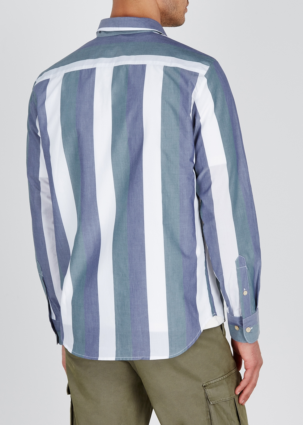 Striped cotton shirt - A Kind of Guise
