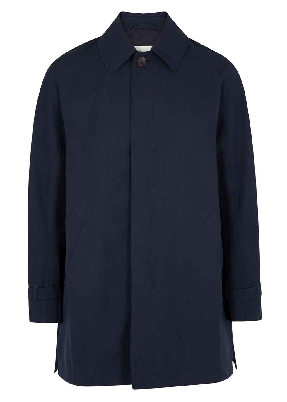 Navy woven jacket - A Kind of Guise
