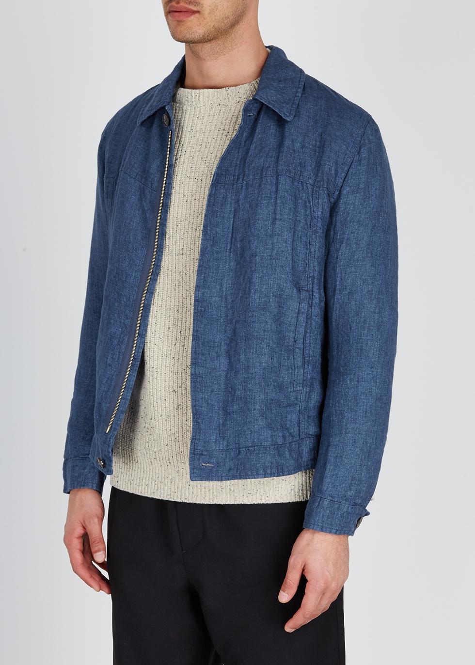 Blue linen jacket - A Kind of Guise