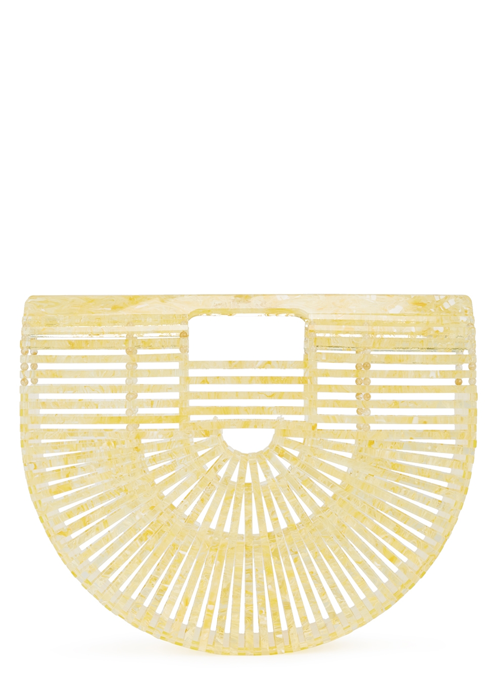 Ark small yellow marbled clutch - Cult Gaia