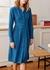 Lotta blue check shirt dress - Kitri