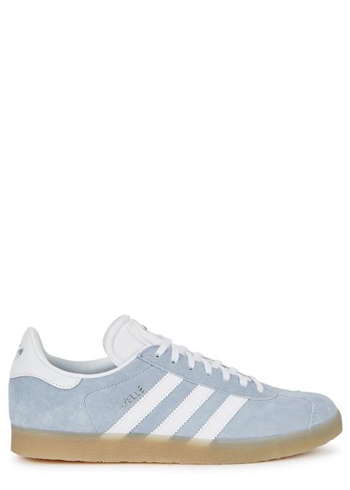official photos 07a1a 2ab27 Gazelle blue suede trainers - adidas Originals