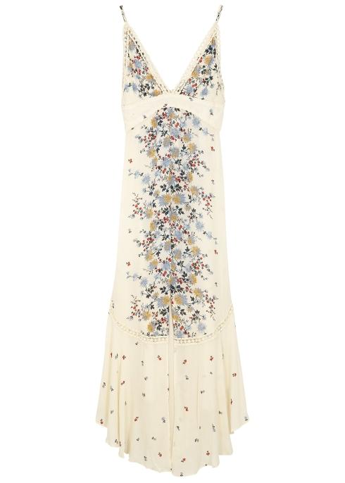 5d5b2271771 Free People Paradise floral-print maxi dress - Harvey Nichols