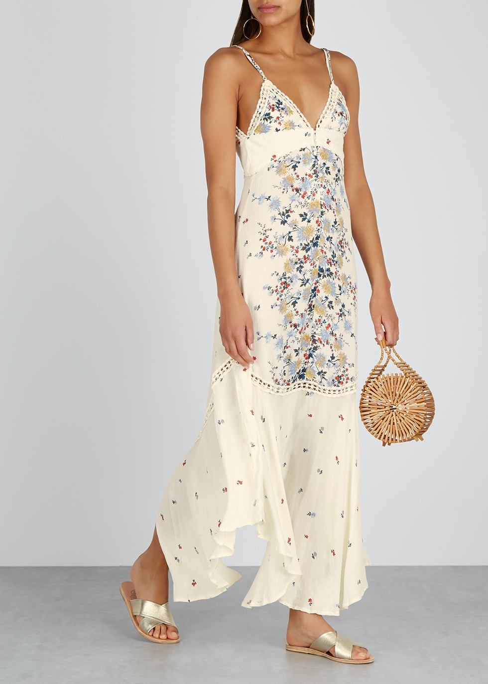 Paradise floral-print maxi dress - Free People