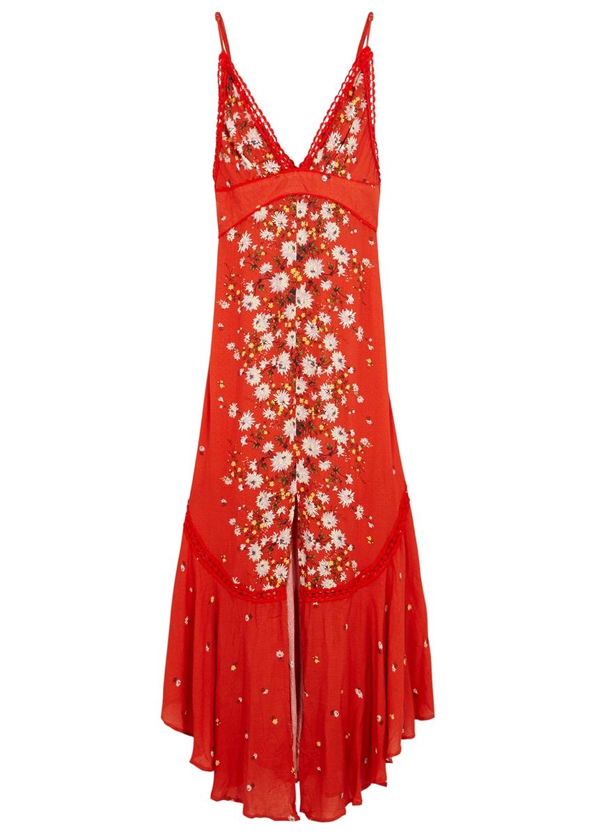a89e8a621b Paradise floral-print maxi dress ...