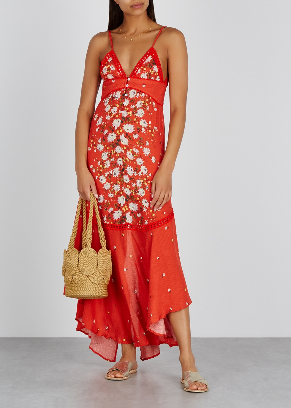 Paradise floral-print maxi dress - Free People