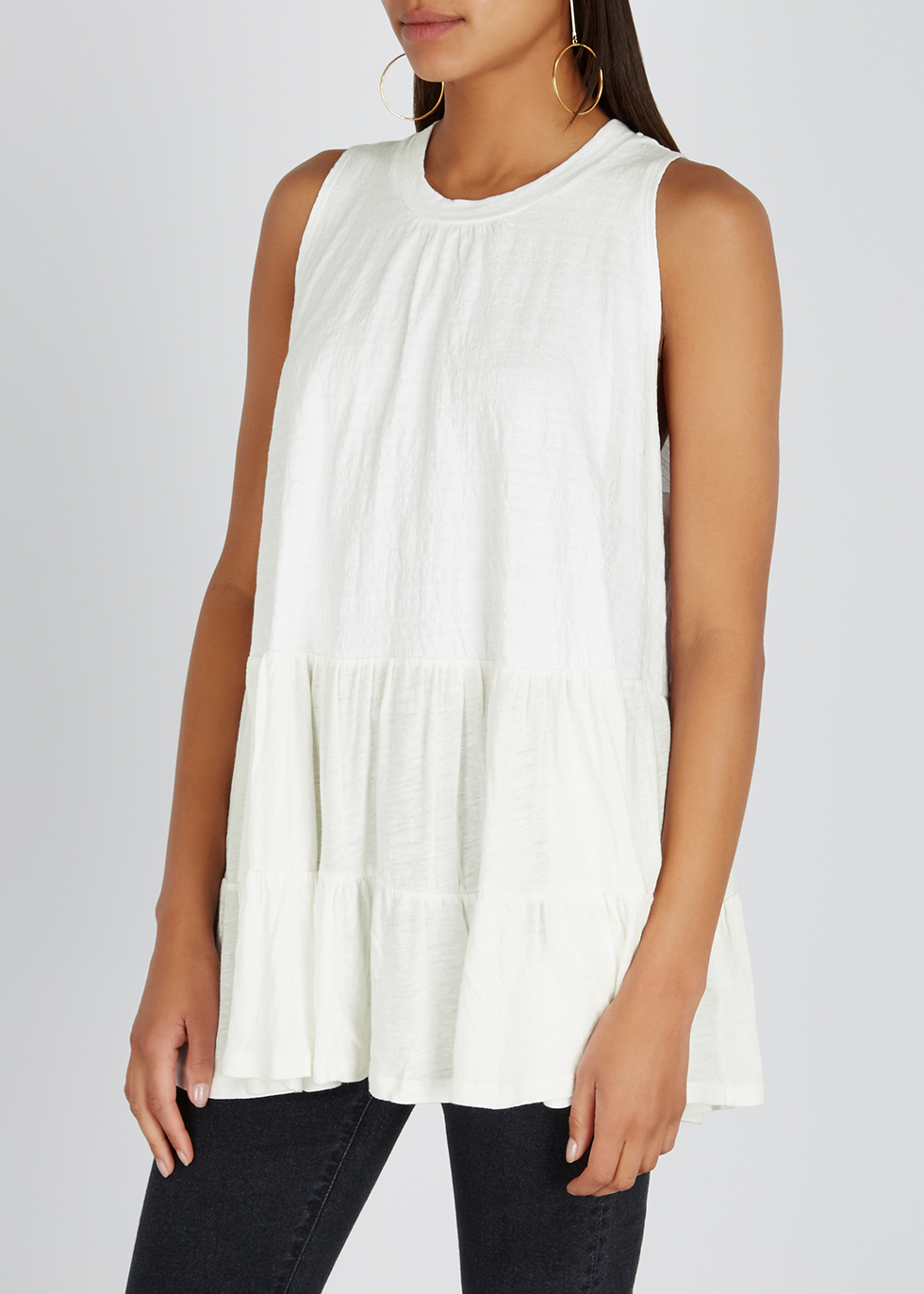 Right On Time cotton-blend top - Free People