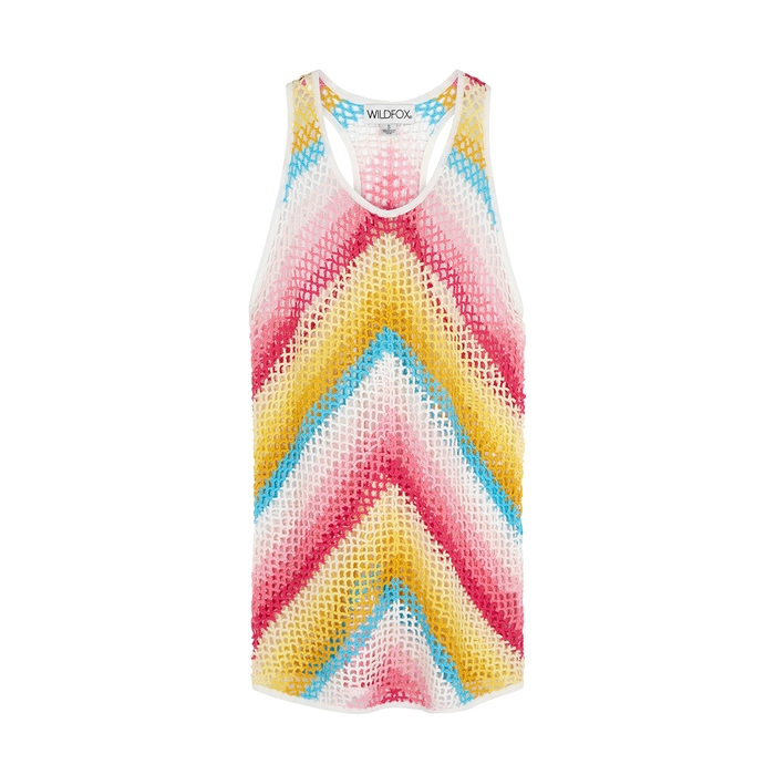 Wildfox Elevated Jones Crochet Cotton Dress