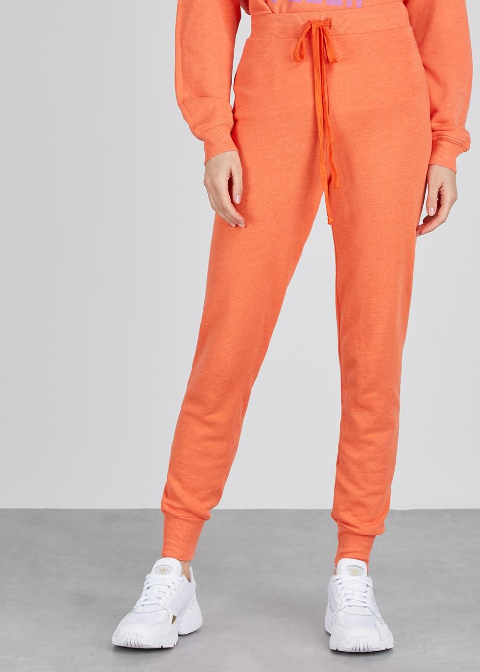 Jack orange jersey sweatpants - Wildfox
