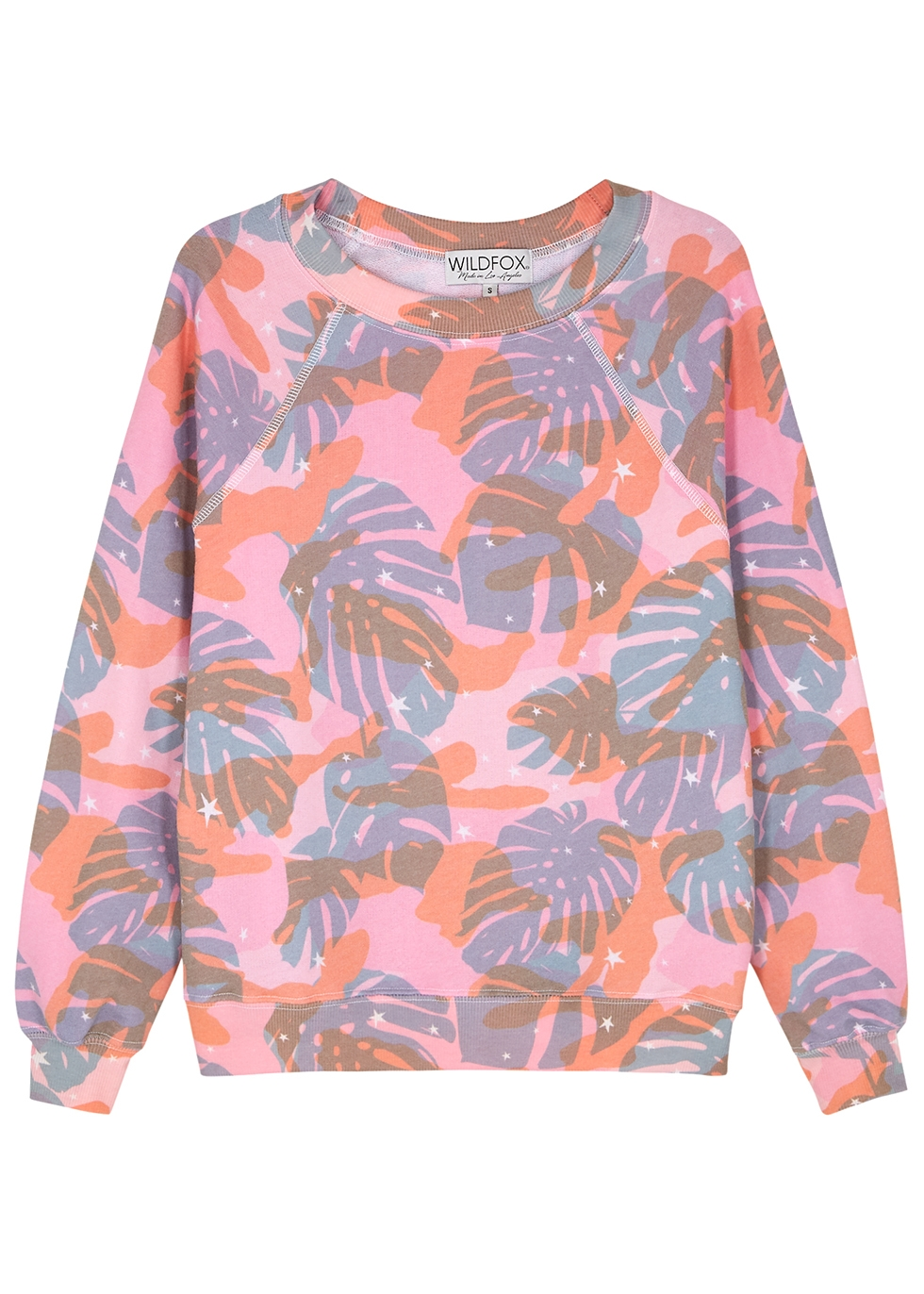 Sommers printed jersey sweatshirt - Wildfox