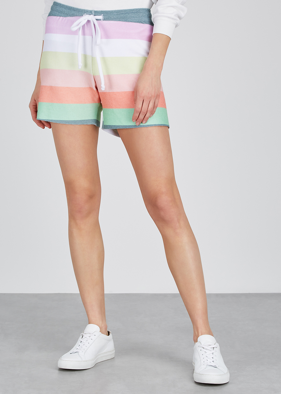 Carter striped jersey shorts - Wildfox