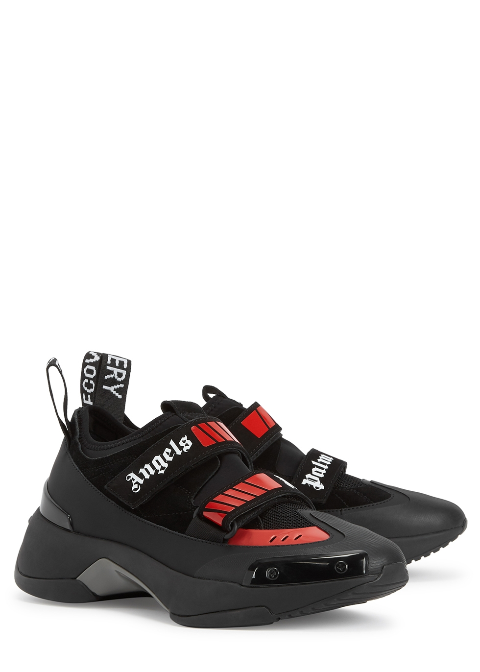 Recovery black panelled trainers - Palm Angels