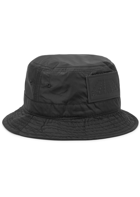 1df89693 Palm Angels Black shell bucket hat - Harvey Nichols