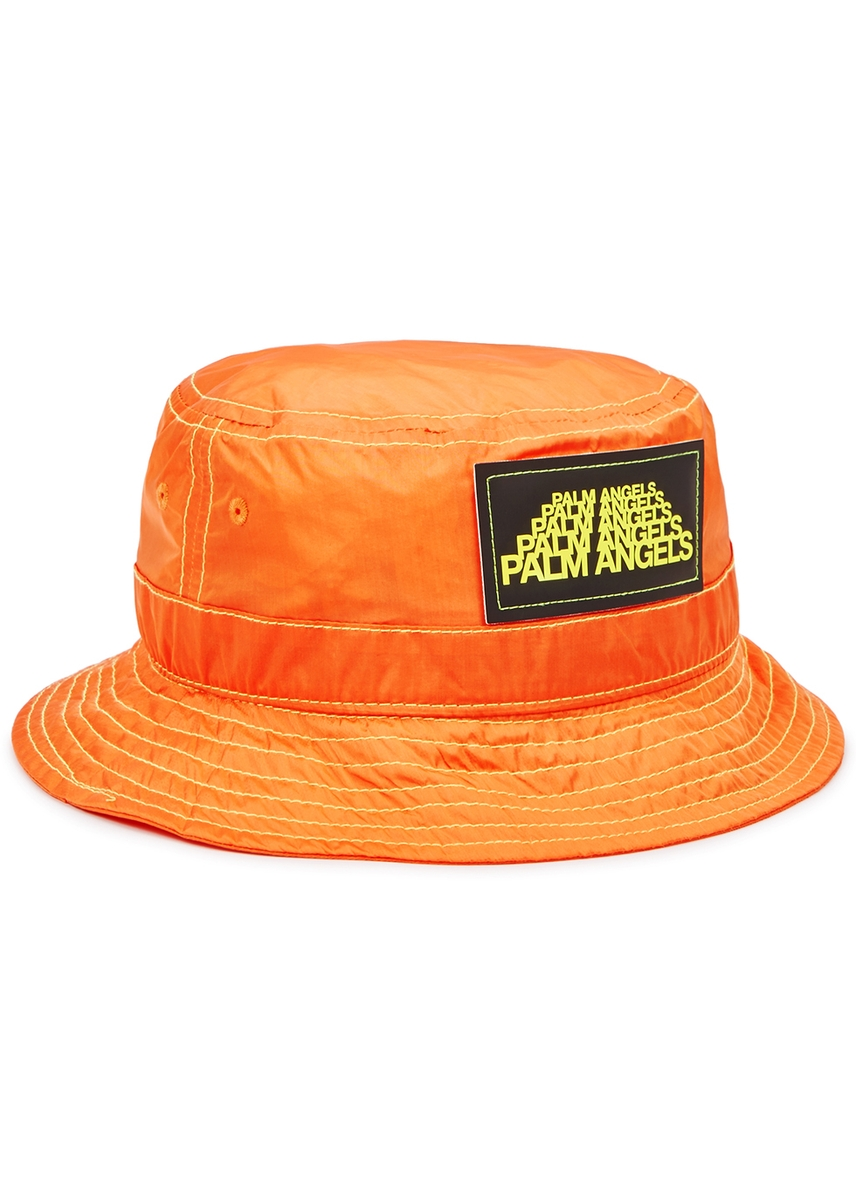 0292b515a75e6 Palm Angels. Orange shell bucket hat