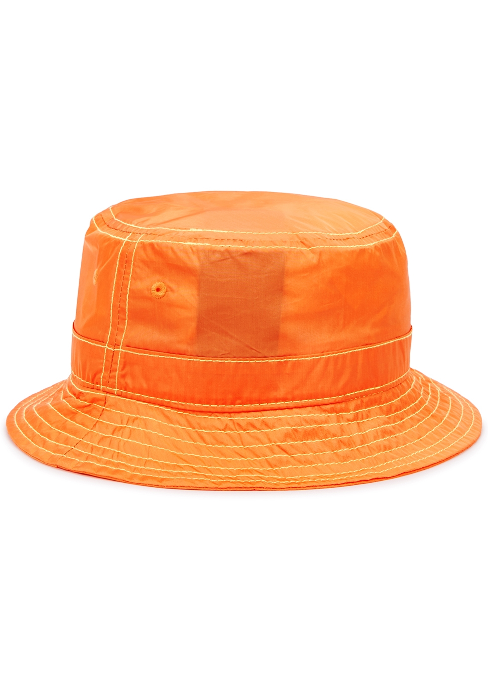 Orange shell bucket hat - Palm Angels