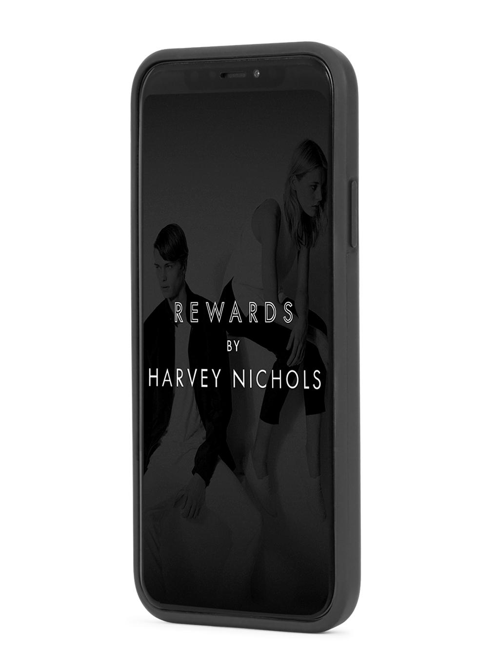 Black logo iPhone X case - Palm Angels