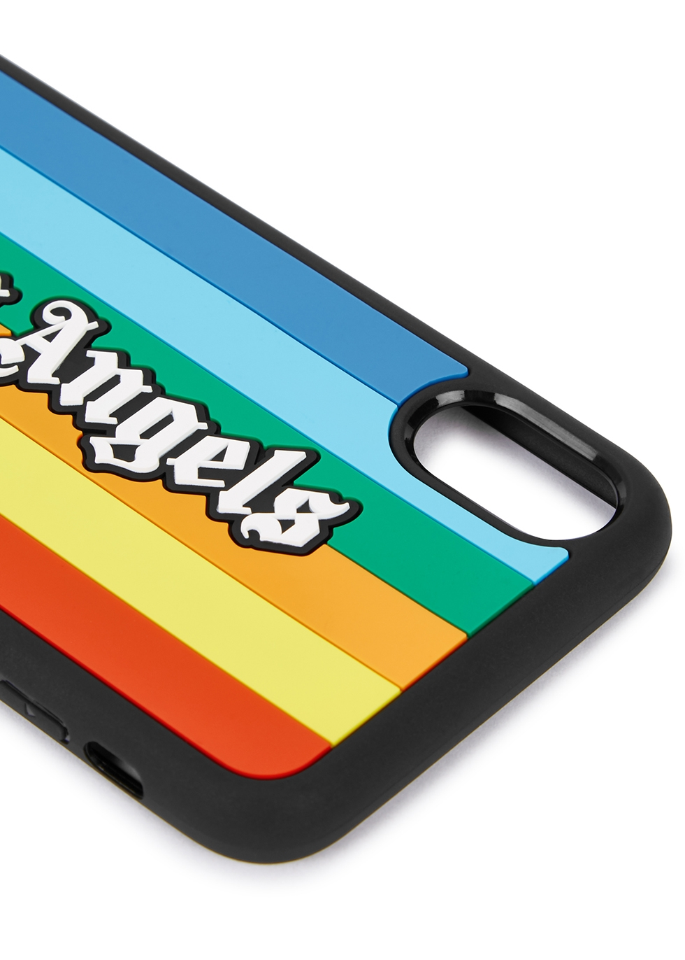 Rainbow logo iPhone X case - Palm Angels