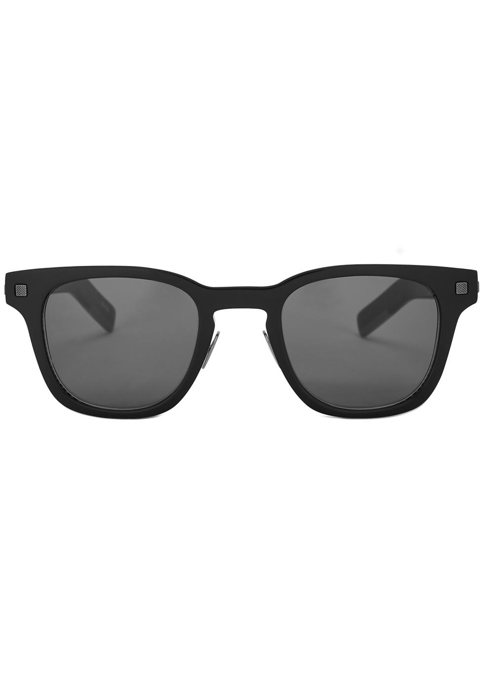 Black wayfarer-style sunglasses - Ermenegildo Zegna