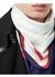 Archive society print silk square scarf - Burberry