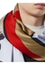 Montage print silk large square scarf - Burberry