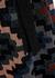 Geometric metallic-knit midi dress - M Missoni