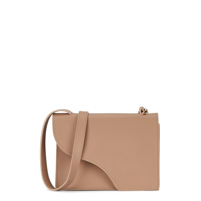Atp Atelier Crossbody Siena brown leather cross-body bag