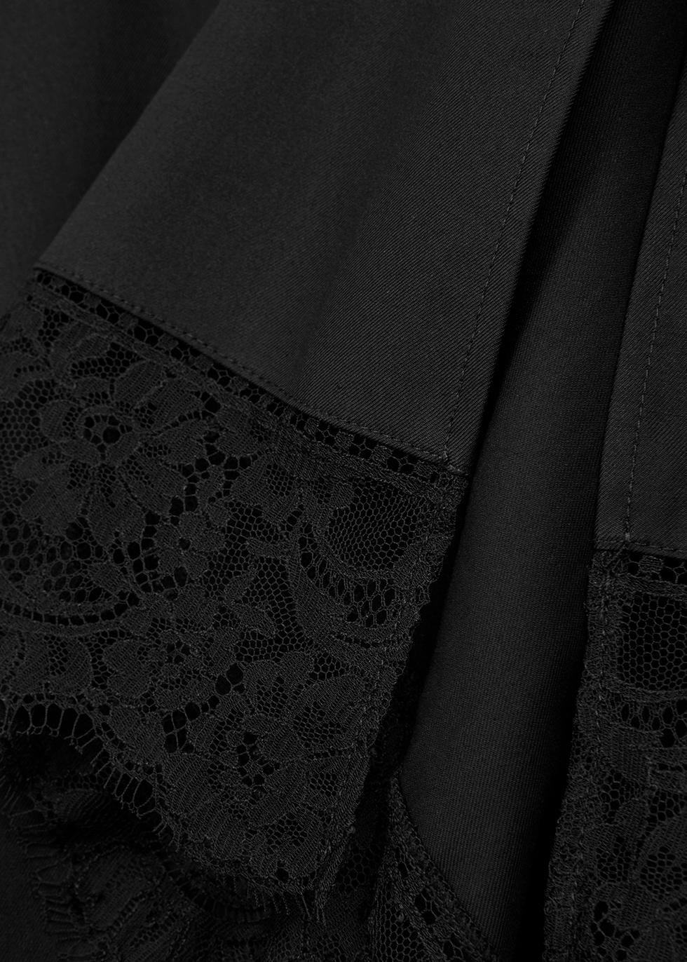 Carrie lace-trimmed cotton top - Khaite