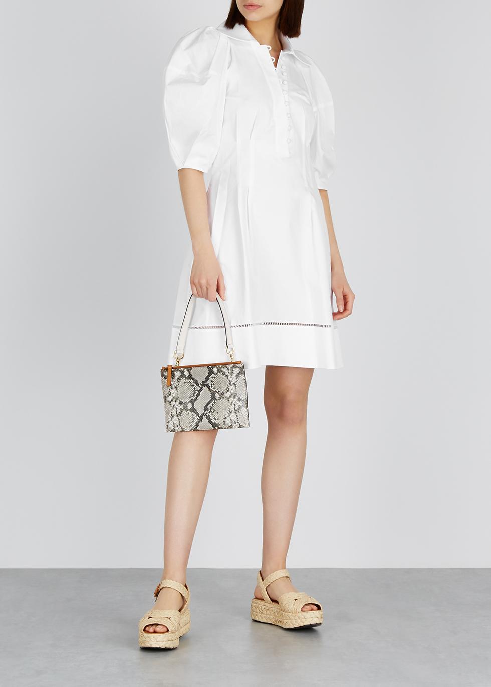 Carlina white cotton dress - Khaite